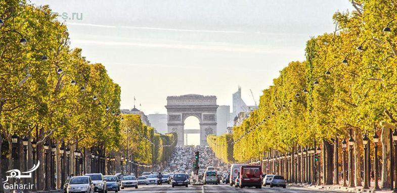 350492 Gahar ir عکسهای دیدنی از خیابان شانزه لیزه پاریس معروف ترین خیابان جهان