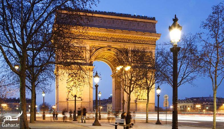 352776 Gahar ir عکسهای دیدنی از خیابان شانزه لیزه پاریس معروف ترین خیابان جهان