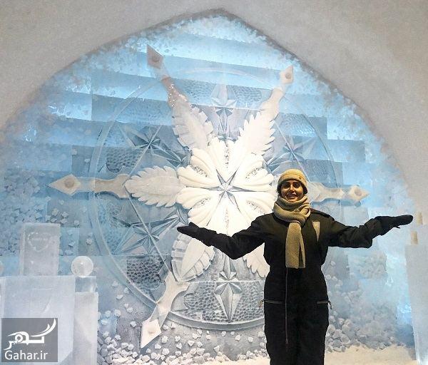 396648 Gahar ir عکسهای جدید و دیدنی الناز شاکردوست در هتل یخی سوئد