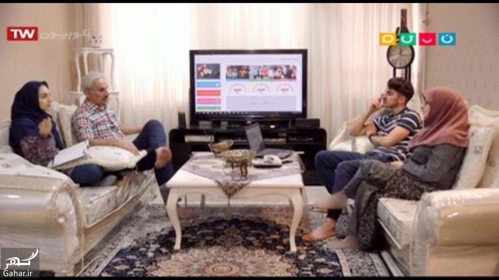 402247 Gahar ir سانسور پای زن در شبکه نسیم به شکل عجیب! / عکس