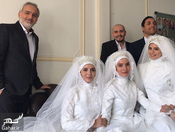 403383 Gahar ir عروس شدن بازیگران در لیسانسه ها / عکس های پشت صحنه