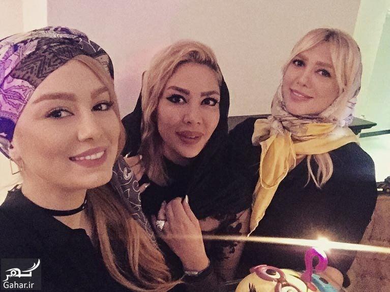 404508 Gahar ir استایل سحر قریشی در جشن تولد دوست صمیمی اش / تصاویر