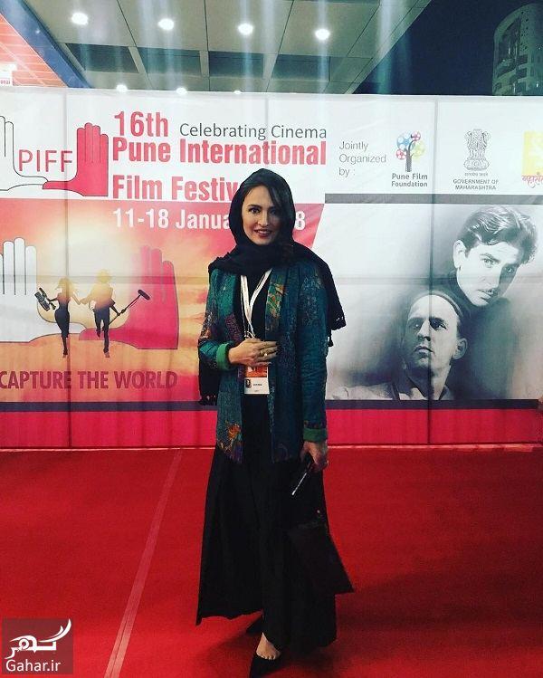 407542 Gahar ir استایل گلاره عباسی در افتتاحیه فستیوال هند / 3 عکس