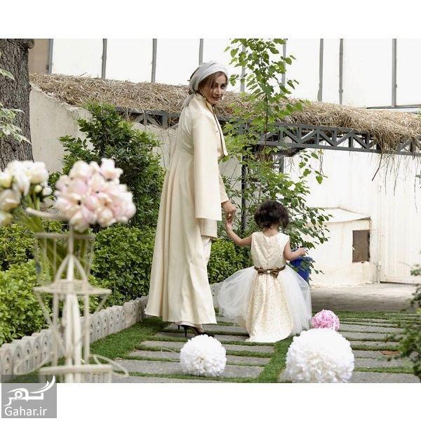 409931 Gahar ir عکس دیدنی از ست کردن شبنم قلی خانی و دخترش