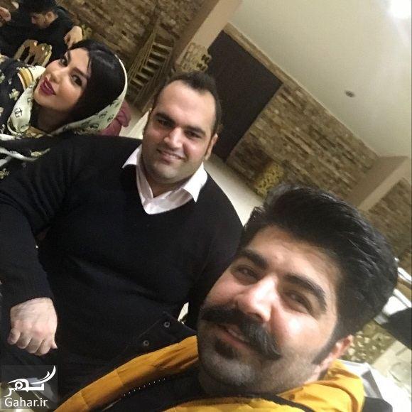 416204 Gahar ir عکس بهنام بانی کنار قویترین مرد جهان و همسرش