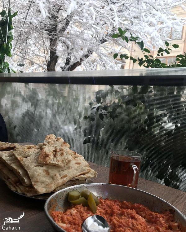 434384 Gahar ir عکسهای زیبای لیلا بلوکات در روز برفی