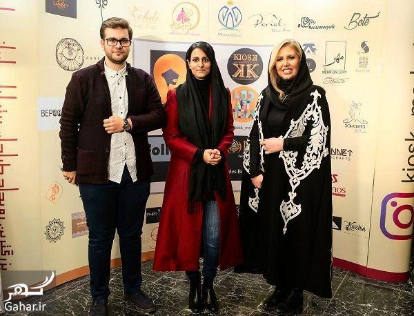 458688 Gahar ir تیپ بازیگران در مراسم بزرگترین رویداد طراحان برتر لباس / تصاویر