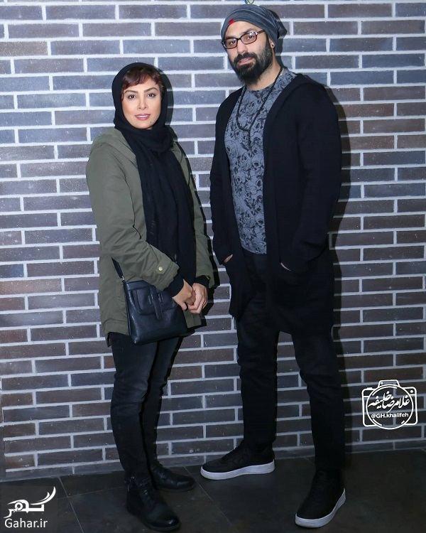 505451 Gahar ir حدیثه تهرانی و همسرش در اکران مردمی فیلم عشقولانس / 4 عکس