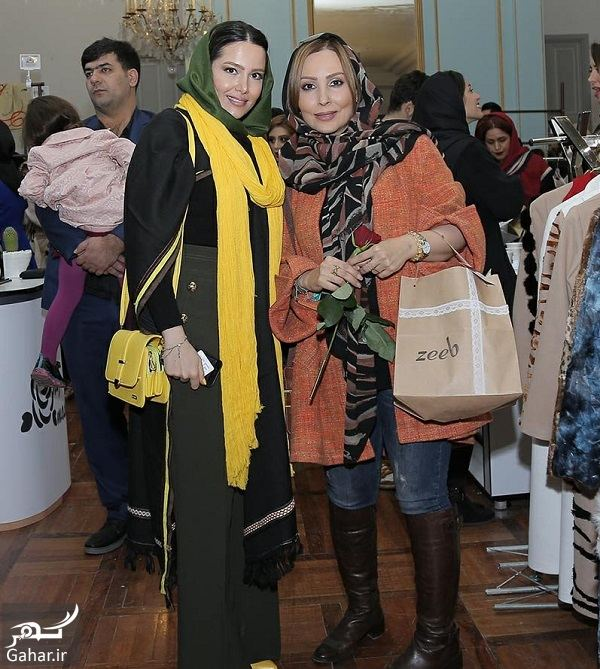590549 Gahar ir استایل متفاوت پرستو صالحی در افتتاحیه رويداد طراحان برتر لباس در سال 96 / تصاویر