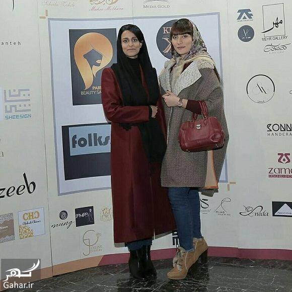 599903 Gahar ir تیپ ساده شهرزاد مدیری دختر مهران مدیری در همایش طراحان