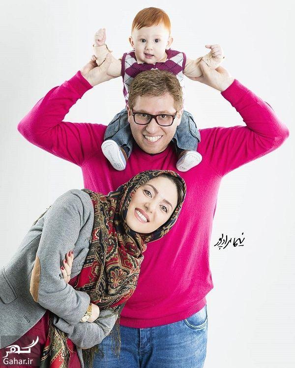 605719 Gahar ir عکسهای دیدنی مهسا کرامتی در کنار همسر و پسرش