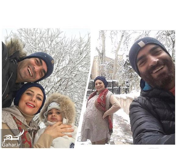 606354 Gahar ir عکسهای بازیگران و هنرمندان در روز برفی تهران