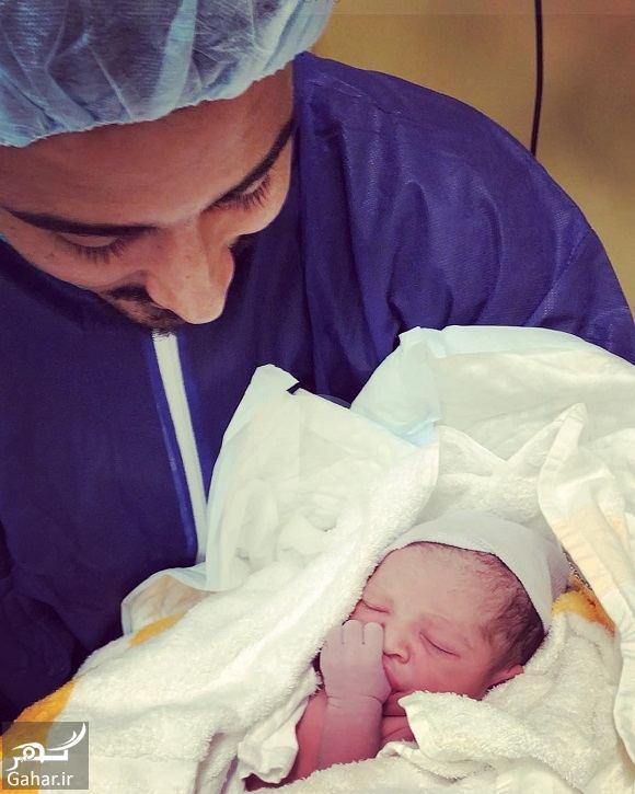 609746 Gahar ir فرزند رضا قوچان نژاد به دنیا آمد