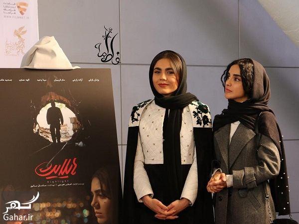 611973 Gahar ir عکسهای جدید بازیگران درمراسم رونمایی از پوستر فیلم هایلایت