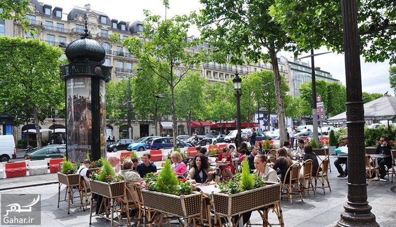 620746 Gahar ir عکسهای دیدنی از خیابان شانزه لیزه پاریس معروف ترین خیابان جهان
