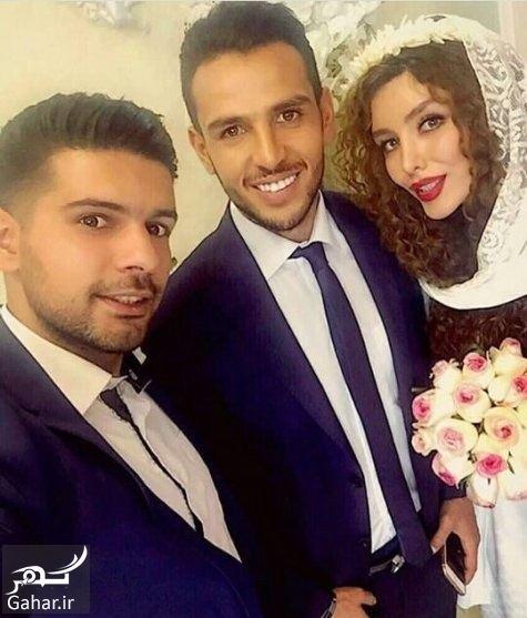 650724 Gahar ir مراسم ازدواج یعقوب کریمی و خانم بازیگر / عکس