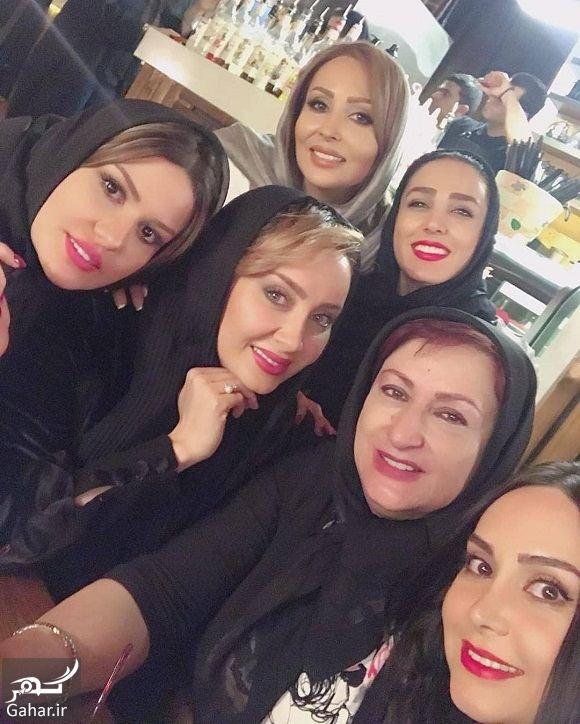 665286 Gahar ir دورهمی بازیگران زن در یک رستوران / عکس