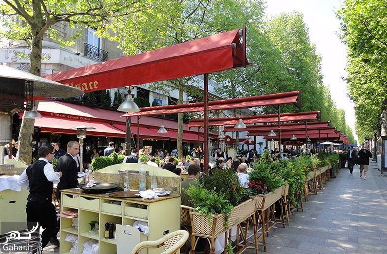 687940 Gahar ir عکسهای دیدنی از خیابان شانزه لیزه پاریس معروف ترین خیابان جهان