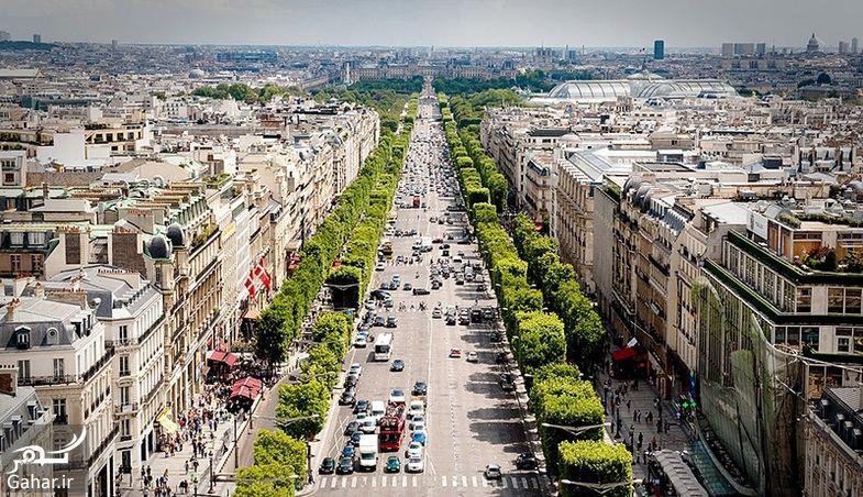 739327 Gahar ir عکسهای دیدنی از خیابان شانزه لیزه پاریس معروف ترین خیابان جهان