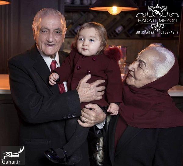 769057 Gahar ir عکسهای جذاب سالگرد ازدواج زوج عاشق 70 ساله ایرانی (مهمانان ماه عسل) به همراه فرزندان و نوه ها