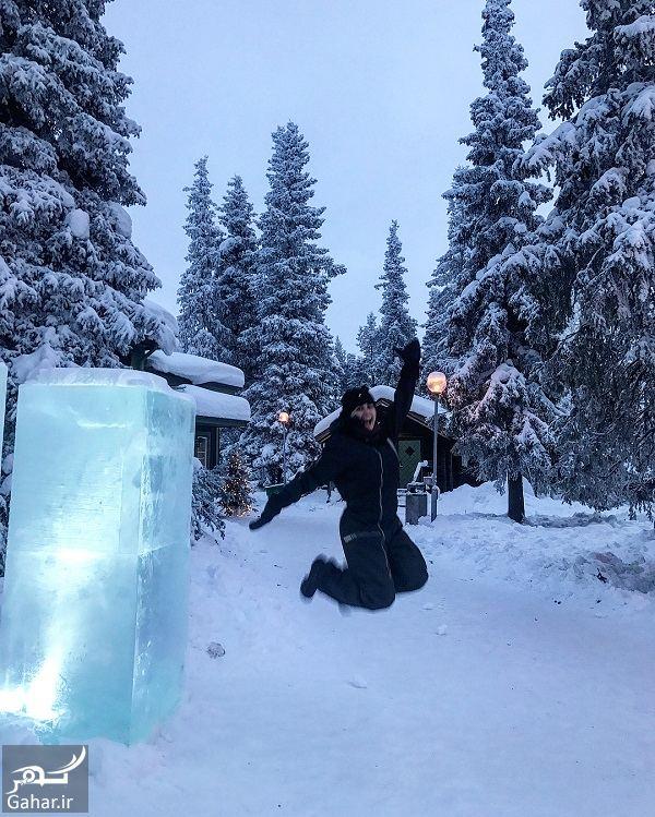 776850 Gahar ir عکسهای جدید و دیدنی الناز شاکردوست در هتل یخی سوئد