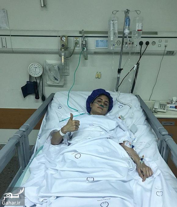 780783 Gahar ir بستری شدن الناز شاکردوست در بیمارستان / عکس