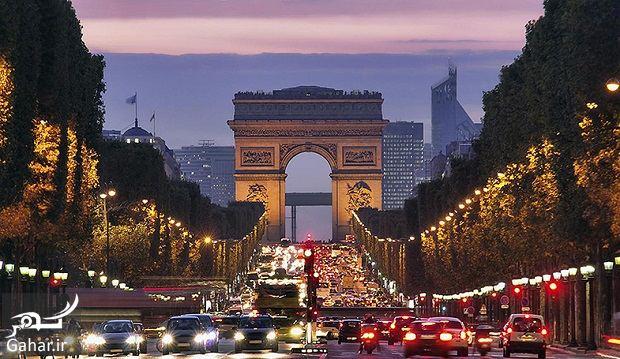 812696 Gahar ir عکسهای دیدنی از خیابان شانزه لیزه پاریس معروف ترین خیابان جهان