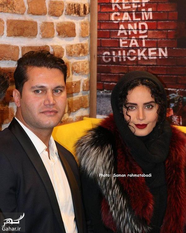 814272 Gahar ir عکسهای زیبای الناز شاکردوست در افتتاحیه رستوران برادرش