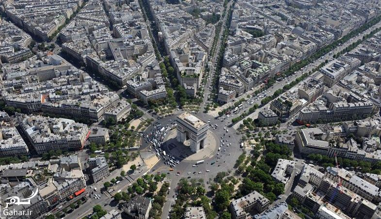 846366 Gahar ir عکسهای دیدنی از خیابان شانزه لیزه پاریس معروف ترین خیابان جهان