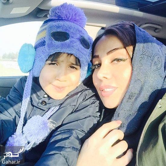 894342 Gahar ir عکسهای همسر محسن چاوشی بهمراه پسر و خاله اش