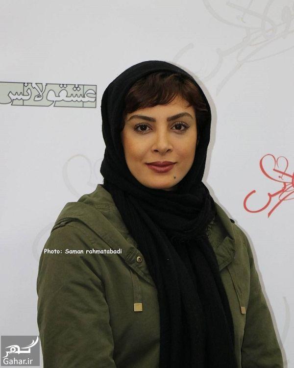 901914 Gahar ir حدیثه تهرانی و همسرش در اکران مردمی فیلم عشقولانس / 4 عکس
