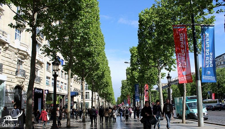 937181 Gahar ir عکسهای دیدنی از خیابان شانزه لیزه پاریس معروف ترین خیابان جهان