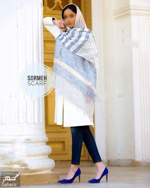 108451 Gahar ir مدل جدید شال و روسری دخترانه و زنانه عید 97