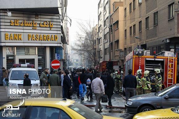 118880 Gahar ir عکس ساختمان وزارت نیرو پس از آتش سوزی + آدرس