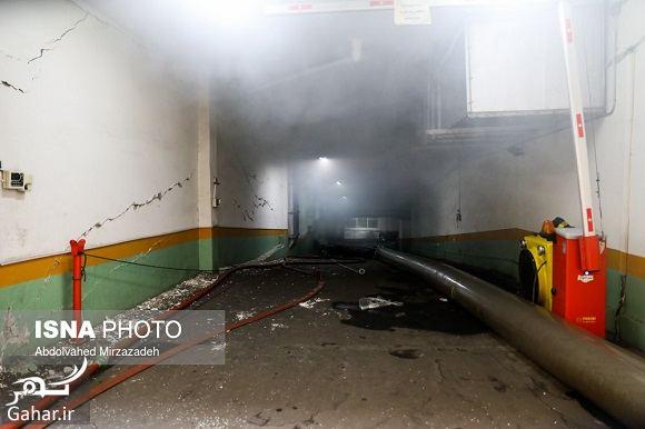 151854 Gahar ir عکس ساختمان وزارت نیرو پس از آتش سوزی + آدرس