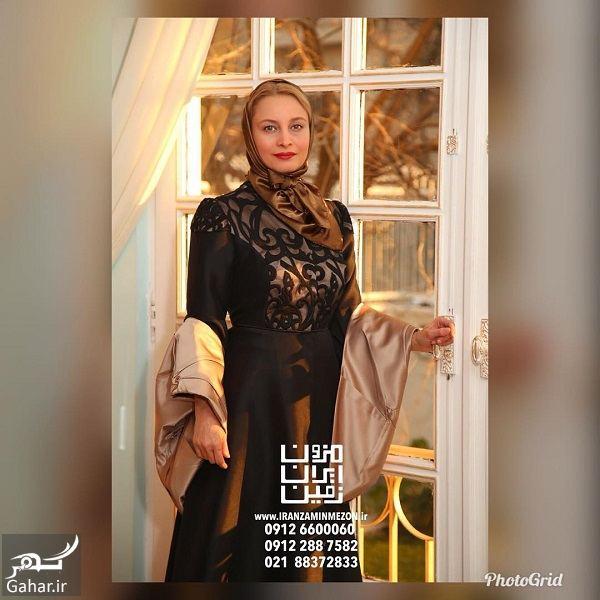 243733 Gahar ir مدل شدن مریم کاویانی برای یک مزون لباس / 2 عکس