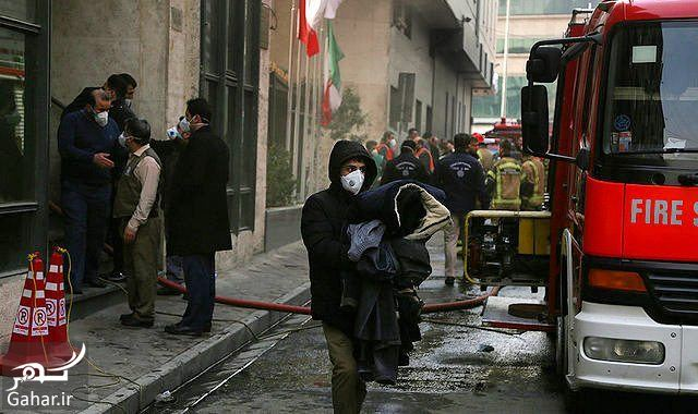 253846 Gahar ir عکس ساختمان وزارت نیرو پس از آتش سوزی + آدرس