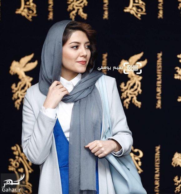 254833 Gahar ir عکسهای ندا عقیقی در جشنواره فیلم فجر 96 + بیوگرافی