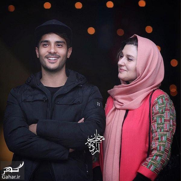 296763 Gahar ir ساعد سهیلی و همسرش گلوریا هاردی در جشنواره فیلم فجر 36 / 3 عکس