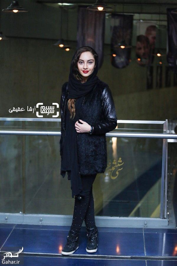 322662 Gahar ir عکسهای جذاب ترلان پروانه و مهتاب کرامتی در جشنواره فجر 36