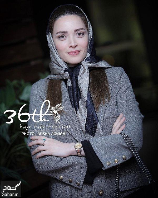 348002 Gahar ir بهنوش طباطبایی در سی و ششمین جشنواره فیلم فجر / 4 عکس