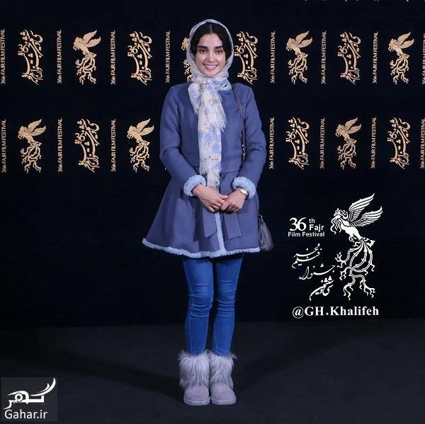 349074 Gahar ir تیپ الهه حصاری در روز هفتم جشنواره فیلم فجر 96 / 4 عکس