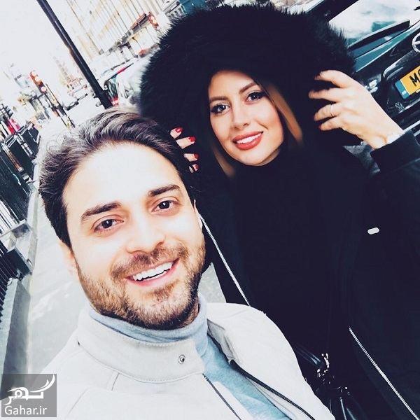 356705 Gahar ir تیپ بابک جهانبخش و همسرش در لندن / 2 عکس