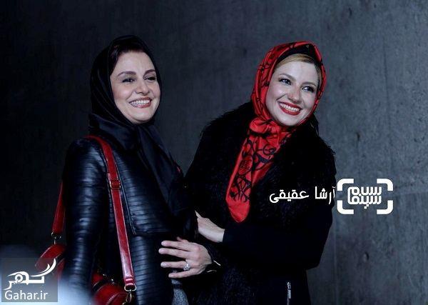 365623 Gahar ir مریلا زارعی و خواهرش در سی و ششمین جشنواره فیلم فجر / 4 عکس