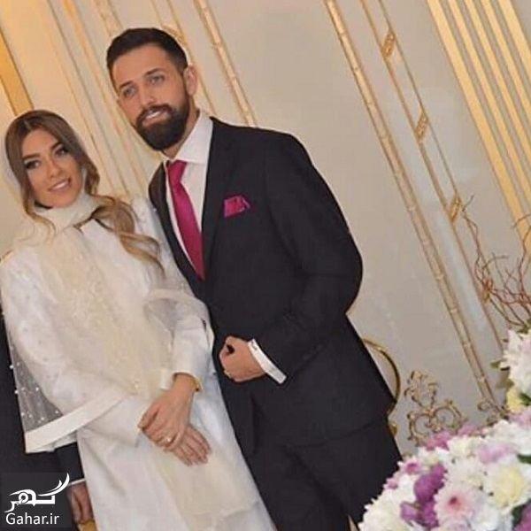 371435 Gahar ir عکسهای مراسم عقد محسن افشانی و همسرش / 3 عکس
