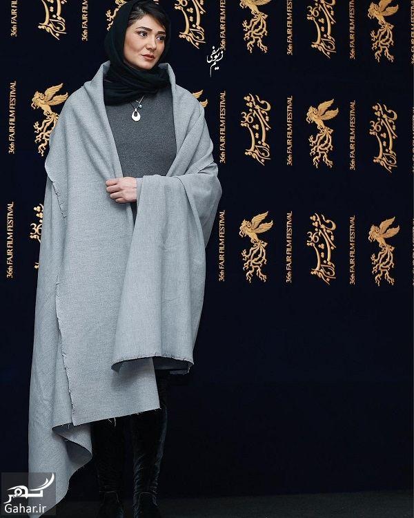 389301 Gahar ir لباس متفاوت مینا وحید (به نفع زلزله زدگان کرمانشاه) در جشنواره فیلم فجر 96 / 3 عکس