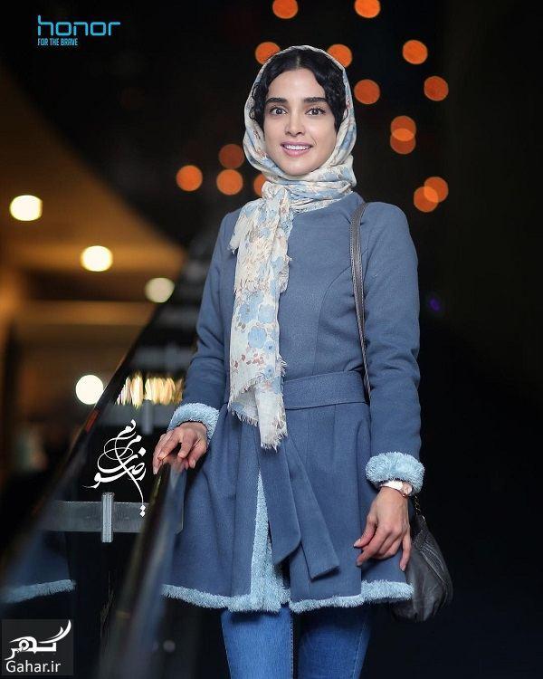 401566 Gahar ir تیپ الهه حصاری در روز هفتم جشنواره فیلم فجر 96 / 4 عکس