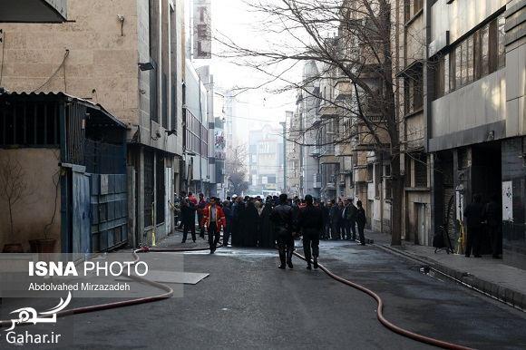 405933 Gahar ir عکس ساختمان وزارت نیرو پس از آتش سوزی + آدرس