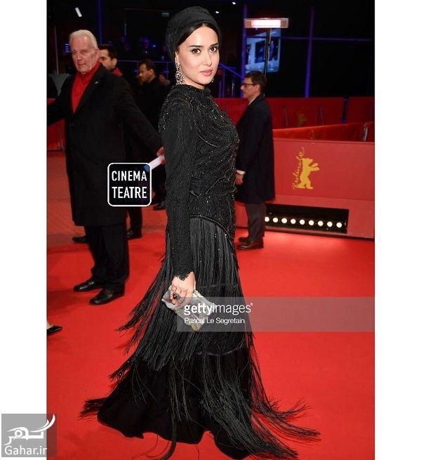 425196 Gahar ir استایل جذاب پریناز ایزدیار در جشنواره فیلم برلین 2018 / 5 عکس