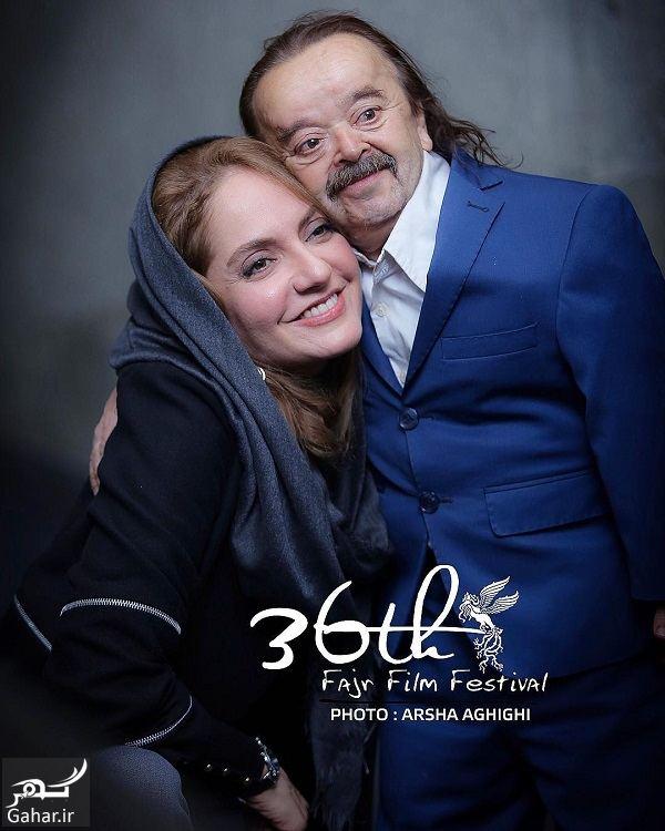 451065 Gahar ir عکسهای دیدنی مهناز افشار و اسدالله یکتا در جشنواره فیلم فجر 96